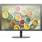 "Monitor IPS LED Lenovo ThinkVision 24"" T2454P, Full HD Wide (1920 x 1200), HDMI, VGA, DisplayPort, 7 ms (Negru) + Lantisor placat cu aur cu pandantiv in forma de lup de mare"
