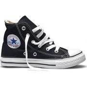 Converse All Star Hi Kids Canvas Trainers Black White