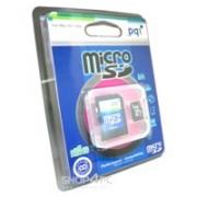 Micro-Secure Digital 512MB, cu adaptor, (Micro SD Card, pentru telefoane mobile), PQI