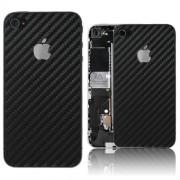 iPhone 4 Bakstycke Kolfiber (Svart)