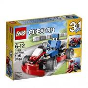 Lego Red Go-Kart