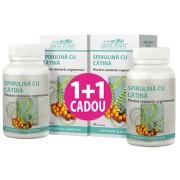 Spirulina si Catina comprimate Dacia Plant 1+1 CADOU