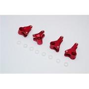 Traxxas 1/16 Mini E-Revo, Mini Slash Upgrade Parts Aluminium Front+Rear Rocker Arm - 4Pcs Set Red