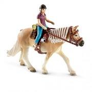 Schleich 2542093 - Set Equitazione Per Pony Camping