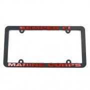 San Diego Gift Marines Plastic License Plate Frames【ゴルフ その他のアクセサリー>ホーム/オフィス】