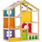 Happy Puzzzle Preschool Kids Children Activity All Season House (unfurnished)