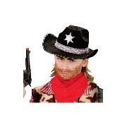 Sheriff kalap - fekete