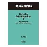 Parada Vazquez Ramon Derecho Administrativo Ii (22ª Ed.)