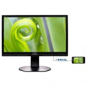 Monitor Philips 241P6EPJEB, 24'', LED, FHD, IPS, DP, USB, piv, rep