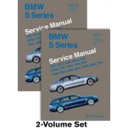 BMW 5 Series (E60, E61) Service Manual: 2004, 2005, 2006, 2007, 2008, 2009, 2010: 525i, 525xi, 528i, 528xi, 530i, 530xi, 535i, 535xi, 545i, 550i
