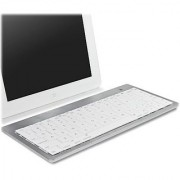 iPhone 6s Plus Keyboard BoxWave [Type Runner Keyboard] Portable Bluetooth Keyboard with Apple Commands for Apple iPhone 6s Plus - Silver White