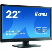 Monitor LED Iiyama ProLite E2280HS-B1 21.5 inch 5 ms Black