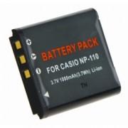 Power3000 PLW211B.635 - acumulator tip NP110 pentru Casio, 1000mAh