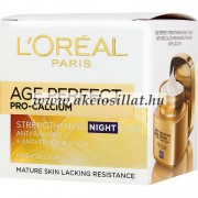 L'Oréal Age Perfect Pro Calcium Night arckrém 50ml