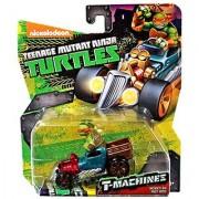 Teenage Mutant Ninja Turtles Nickelodeon T-Machines Mikey in Hot Rod Diecast Car