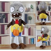 Skylofts Halloween Imported 32cm Zombie Plush Toy with Duck by Zombies vs Plants