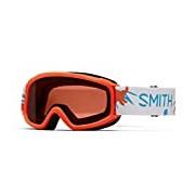 Smith Kids' Sidekick Goggles, Neon Oran Dinos