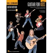 Guitar for Kids: A Beginner's Guide with Step-By-Step Instruction for Acoustic and Electric Guitar [With CD (Audio)]
