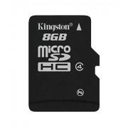 Kingston SDC4/8GB Memoria MicroSDHC senza Adattatore SD, 8 GB, Class 4