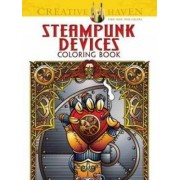Creative Haven Steampunk Devices Coloring Book by Jeremy Elder