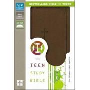 NIV, Teen Study Bible, Compact, Imitation Leather, Brown by Dr. Lawrence O. Richards