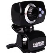Camera Web 4World 10133, VGA (Negru)