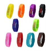 GSP FASHION (PACK OF 12) LED DIGITAL TOY WATCH FOR KIDS (BEST ITEM FOR BIRTHDAY & RETURN GIFT)