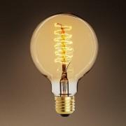 Bec decorativ Edison glob E27 60W G80 23AK