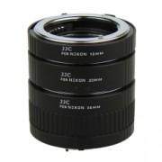 JJC AET-NS - Set tuburi extensie pentru Nikon (12mm, 20mm, 36mm)