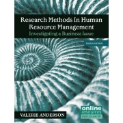 Research Methods in Human Resource Management by Valerie Anderson