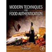 Modern Techniques for Food Authentication by Da-Wen Sun