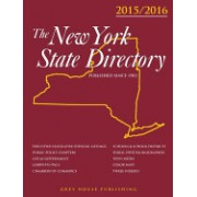 New York State Directory, 2015/16: Print Purchase Includes 1 Year Free Online Access