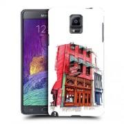 Husa Samsung Galaxy Note 4 N910 Slim Model Old Town Bar