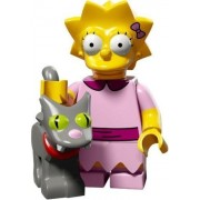 LEGO Minifiguras Coleccionables: Lisa Con Snowball Minifigura (La Simpsons Serie 2)