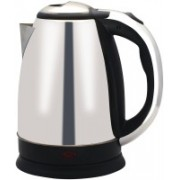 Wonder World ® Hot Water Pot Portable Boiler Tea Coffee Warmer Heater 1.8 L - TR-1108 ANMOL Cordless Electric Kettle(1.7 L, Silver)