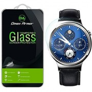 Huawei Watch Screen Protector Glass Dmax Armor [Tempered Glass] 0.3mm 9H Hardness Anti-Scratch Anti-Fingerprint Bubble Free Ultra-clear