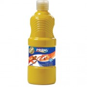 Prang Washable Finger Paint, 16 Ounce Bottle, Yellow (41603)