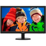 "Monitor LED Philips 27"" 273V5LHSB, Full HD (1920 x 1080), VGA, HDMI, 5 ms (Negru) + Ventilator de birou Esperanza EA149K, USB, 2.5W (Negru)"
