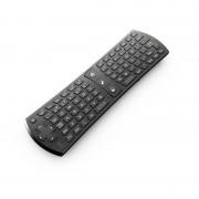 Mini air mouse si tastatura Rii tek wireless i24 full qwerty