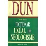 Dictionar uzual de neologisme.