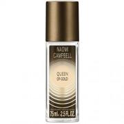 Naomi Campbell Queen Of Gold Deodorant Spray 75 Ml