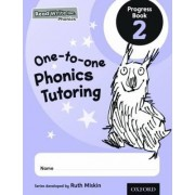 Read Write Inc. Phonics: One-to-one Phonics Tutoring Progress Book 2 Pack of 5 by Ruth Miskin