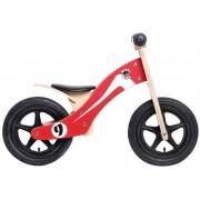 """Rebel Kidz Wood Air Lernlaufrad 12"""" Retro Racer rot/weiß Kinderfahrräder"""