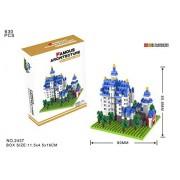 YouCute Micro Blocks, New Swan Stone Castle, Small Building Block Set