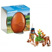 Playmobil 5278 Easter Egg - Native American Girl with Forest Animals