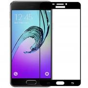 Folie sticla Samsung Galaxy C9/C9 Pro, Skin Black
