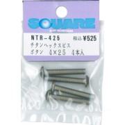 4 x 25 bis bot?n hexagonal (4 piezas) NTR-425 (Jap?n importaci?n / El paquete y el manual est?n escritos en japon?s)