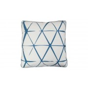 KM Matt- & Textilgrossisten AZTEK Kudde Lines Blå