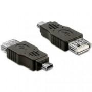 USB A(F)/B Mini-B adapter Delock 65399