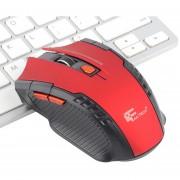EW Fantech rojo W529 inalámbrico ratón para juegos - Rojo